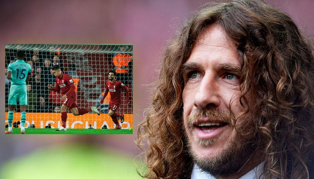 Carles Puyol sums up Liverpool's brilliance in two tweets