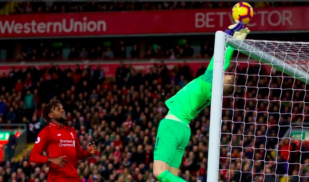 (Video) LFC fans belt out Jordan Pickford 'Little Arms' song