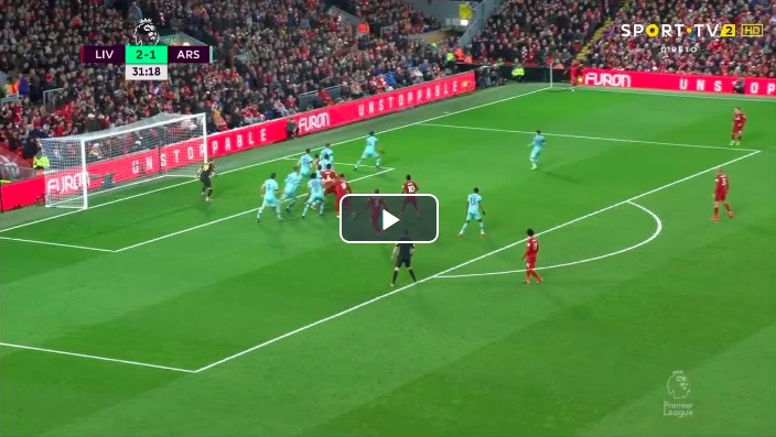 (Video) Mane gets 2nd in 12 after Salah's superbly delicate assist