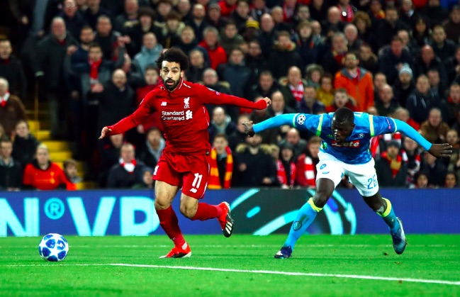 'He is in Koulibaly's pocket…' Salah makes mockery out of Rival Fan Tweets