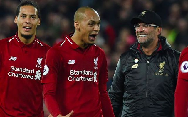 Klopp's interesting point on Fabinho's tactical inclusion