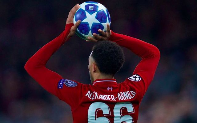The games Trent Alexander-Arnold is expected to miss through injury…