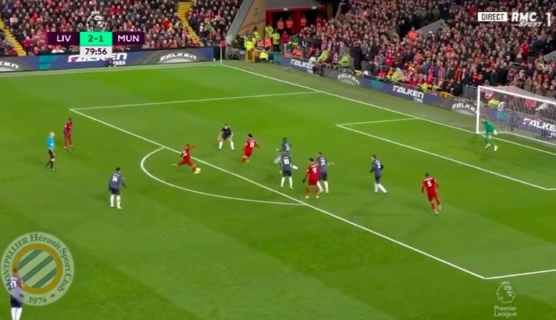 (Video) Shaq makes it 3-1 and the Kop goes mental