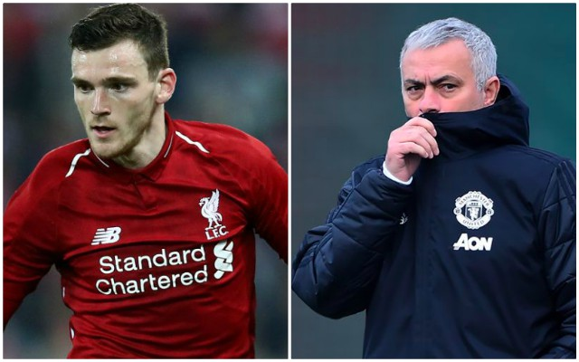 Here's how Andy Robertson responded to Jose Mourinho's comments on him