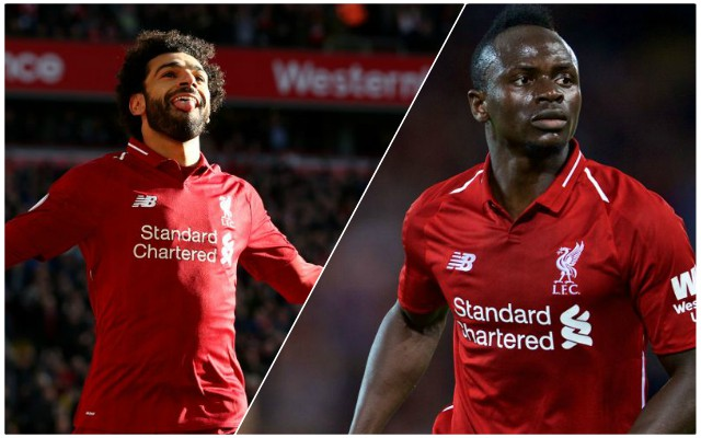 (Video) Salah's superb reaction to Mane's 94th minute miss vs. Napoli