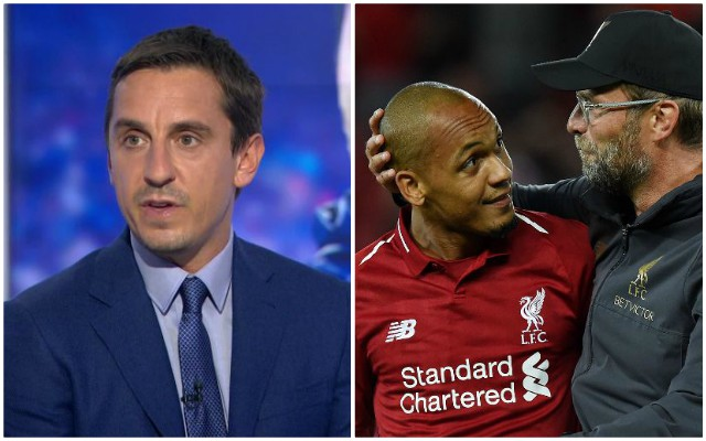 Neville: why I've changed by mind on Liverpool summer signing
