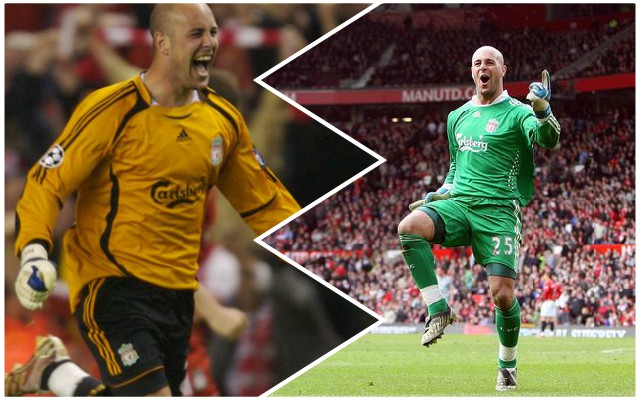 Reds fans love Pepe Reina's derby victory reaction