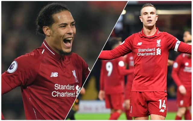 How the Reds must line up in their final game of 2018 against Arsenal