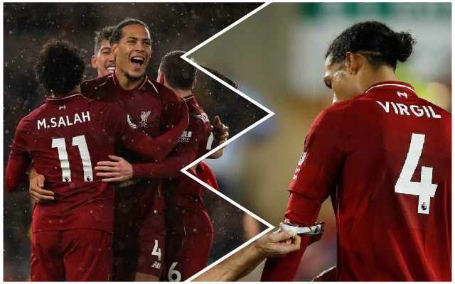 The incredible Van Dijk statistics that sum up his growing influence