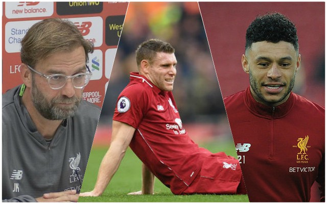 Milner, Chamberlain, Solanke: Klopp provides injury update ahead of Arsenal clash