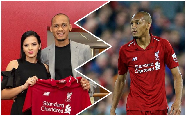 Reds fans will love how Fabinho's wife celebrated derby victory