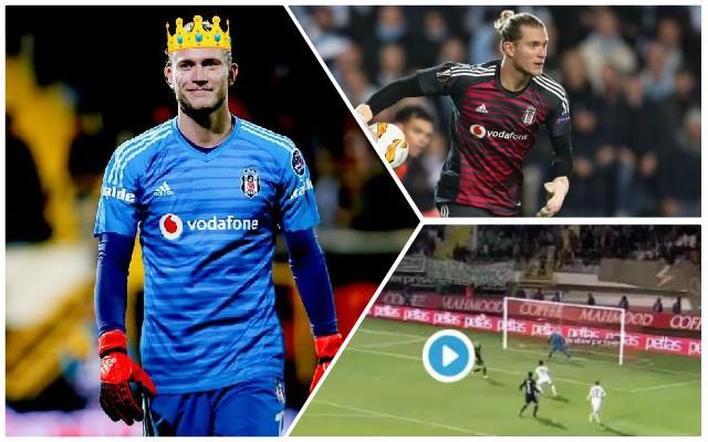 (Video) 'King' Karius Produces MOTM Display For Besiktas