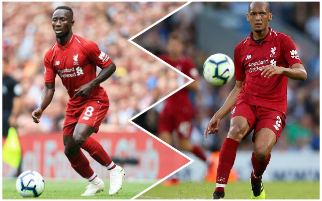"""Stupendous!"": Reds react as Fabinho and Keita start for the first time together"
