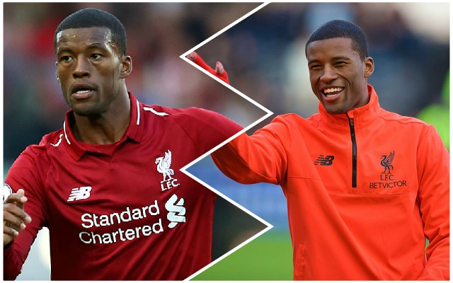 Ambitious Wijnaldum claims Reds were 'incomplete' at Bournemouth