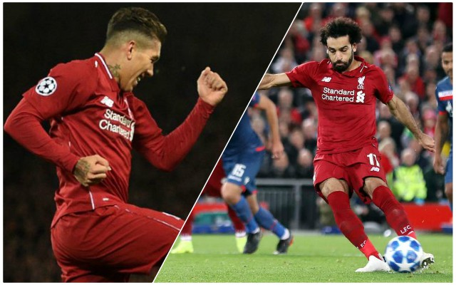 The incredible feat Firmino and Salah could reach against Napoli