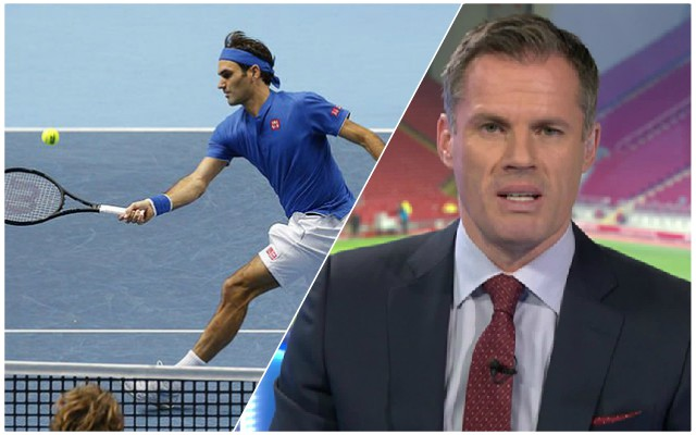 Carra makes brilliant Federer comparison with Reds defender