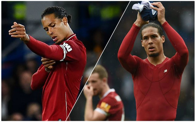 "Van Dijk: ""I'm far away from where I want to be"""