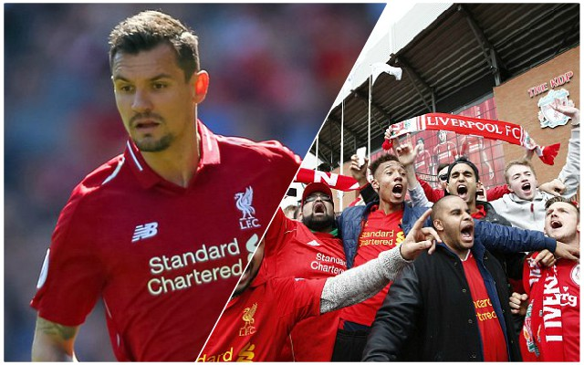 'Agenda's in full force!': Reds fans have no issue with Lovren unbeaten comments
