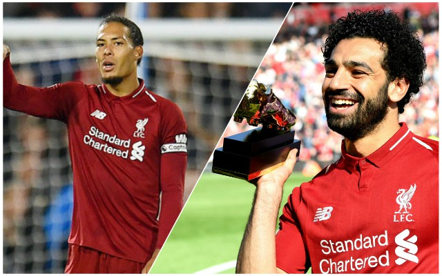 The two Reds players who are the 'best in the country' – and better than Salah