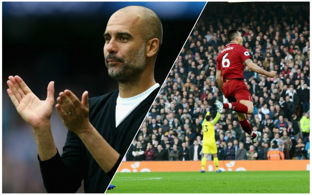 Guardiola makes gracious admission with Reds topping the table