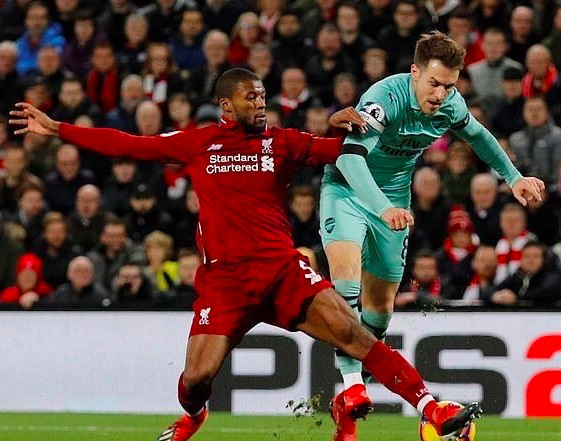 (Video) Wijnaldum's highlights v Arsenal are jaw-dropping