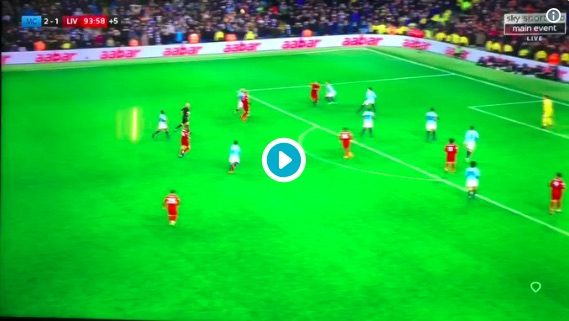 (Video) Van Dijk fumes at Lovren for foolish long-ball at game's death