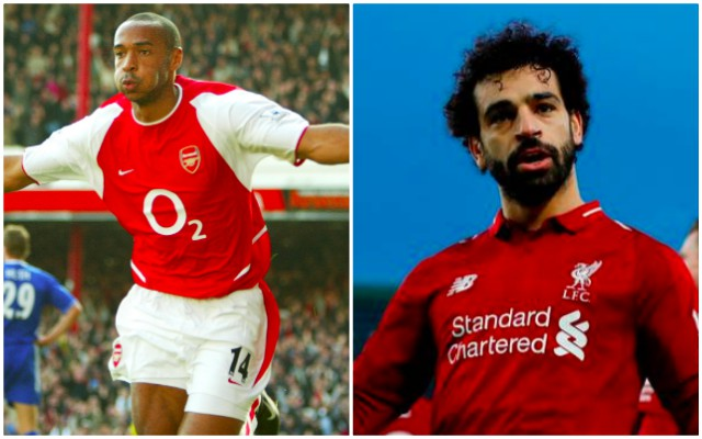 Incredible Salah stat puts Mo above Thierry Henry & proves he's criminally underrated