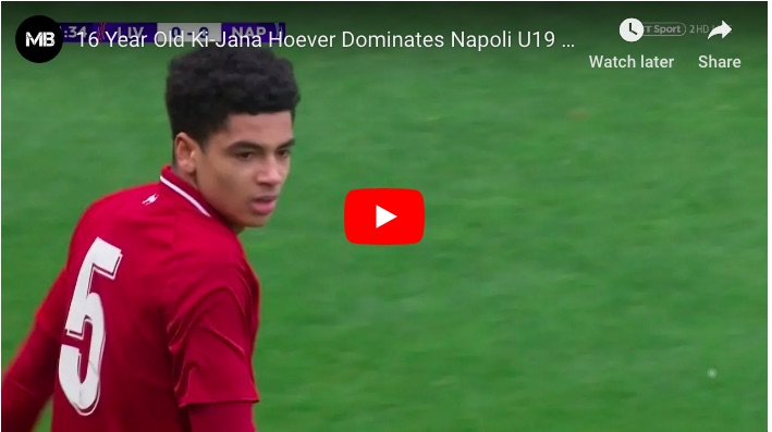 (Video) This is why Ki-Jana Hoever is now a first-team option…