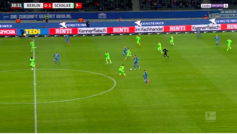 (Video) Grujic scores super goal after starting move in his own half