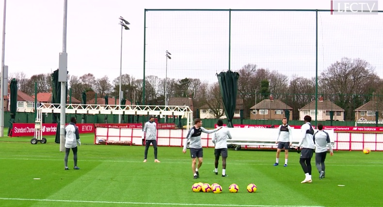 (Video) Milner having a go at Robbo in training proves his unbelievable professionalism