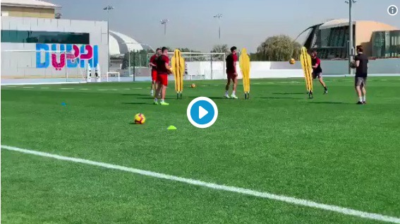(Video) Liverpool fans will love this clip of Oxlade-Chamberlain training again