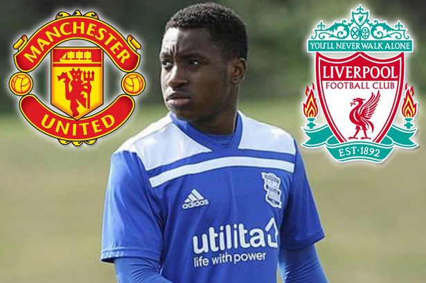 LFC scouts watch striker score; But United also keen