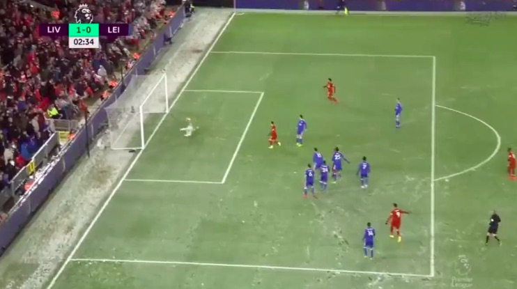 (Video) Sadio Mane bags in 3rd minute to send Anfield crazy