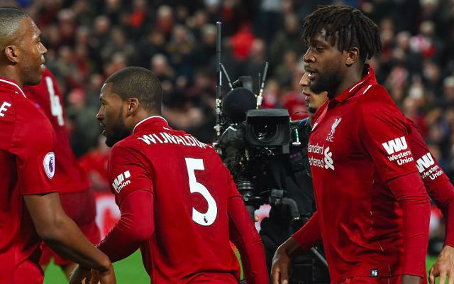 (Video) Origi v Watford: Lovely goal, left-foot pings & more as Divock puts down marker