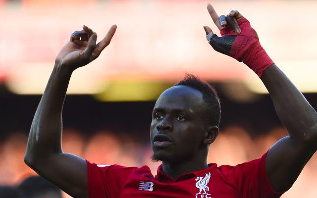 Reds will love Sadio Mane's outlook on Liverpool's Premier League title chances