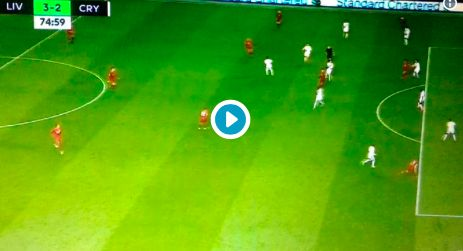 (Video) Julian Speroni howler gifts Liverpool 3-2 lead over Crystal Palace