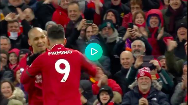 Watch Fabinho & Firmino's celebratory dance – it's impossible not to smile
