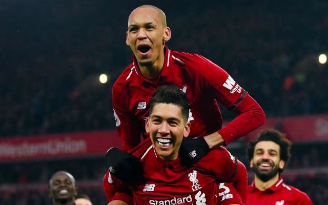 Fabinho on the player who convinced him to join Liverpool