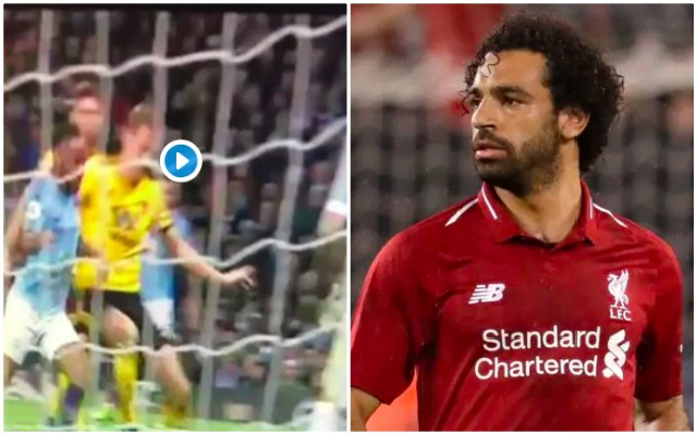 (Video) Media ignores actual Sterling dive, but labels blatant foul as Salah cheating