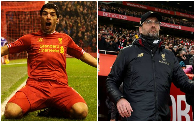 Luis Suarez quizzed over his interest in working with Jurgen Klopp