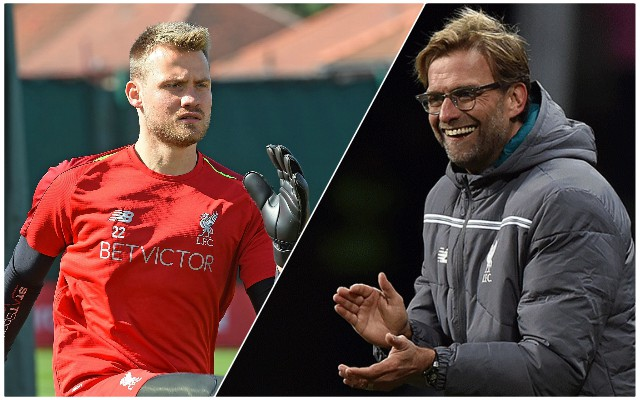 """We get along really well"": Mignolet shows brilliant attitude as he praises teammate"