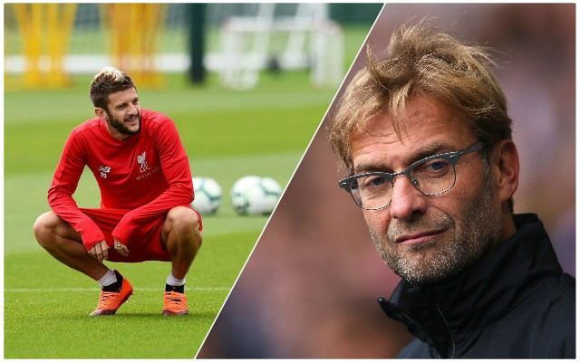 Klopp shares frustrating update on Lallana injury situation