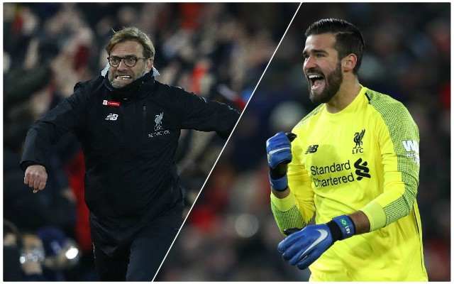 Stats show worrying Alisson dip since turn of the year