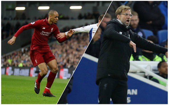 'Unbelievably valuable…' Klopp on long-term plan for Fabinho