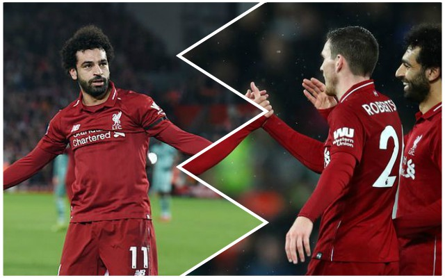 Spot on: Robertson nails it with comments on ridiculous Salah 'diving' accusations