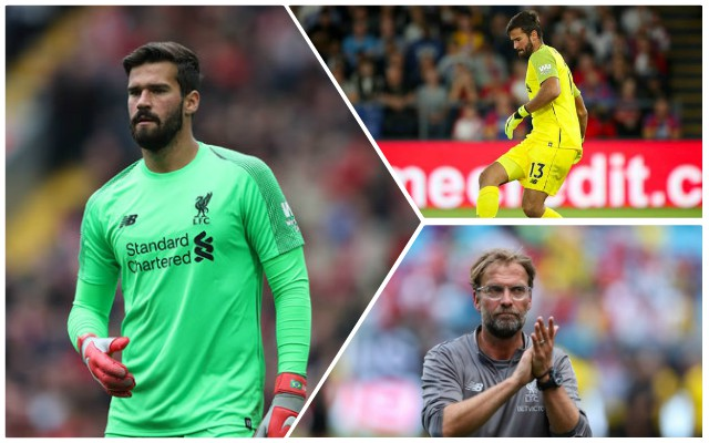 Klopp outlines why Alisson is even better than he thought