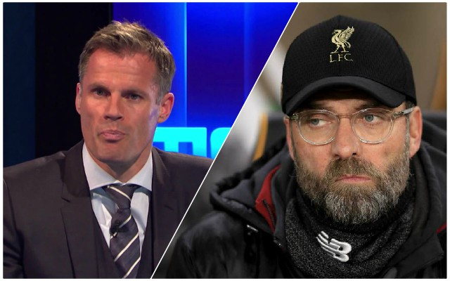 Carra expresses surprise over Reds January transfer decision