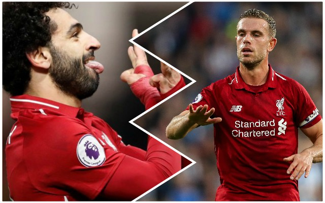 Henderson makes a great point as he fires a warning to Salah critics
