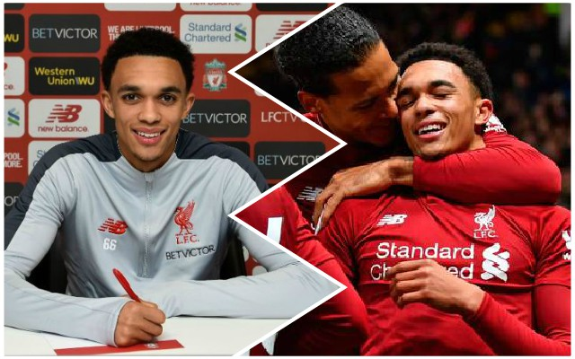 """Ecstatic"": Trent and Klopp's brilliant reactions to new contract confirmation"