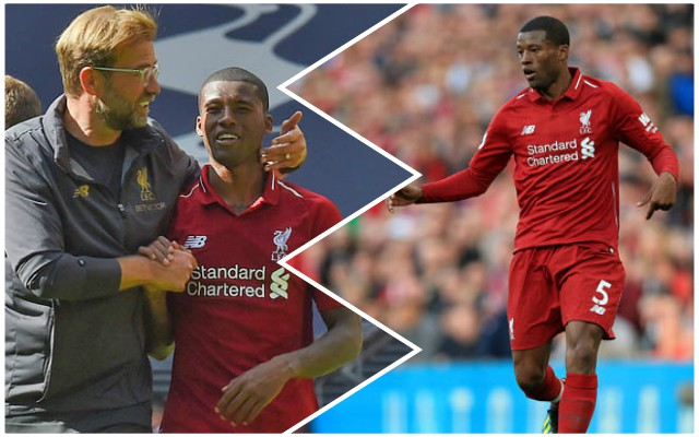 The incredible Gini Wijnaldum stat that sums up his brilliant 2018